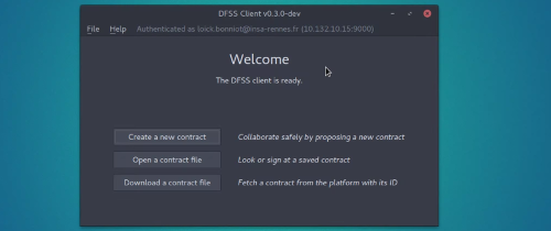 DFSS Screenshot